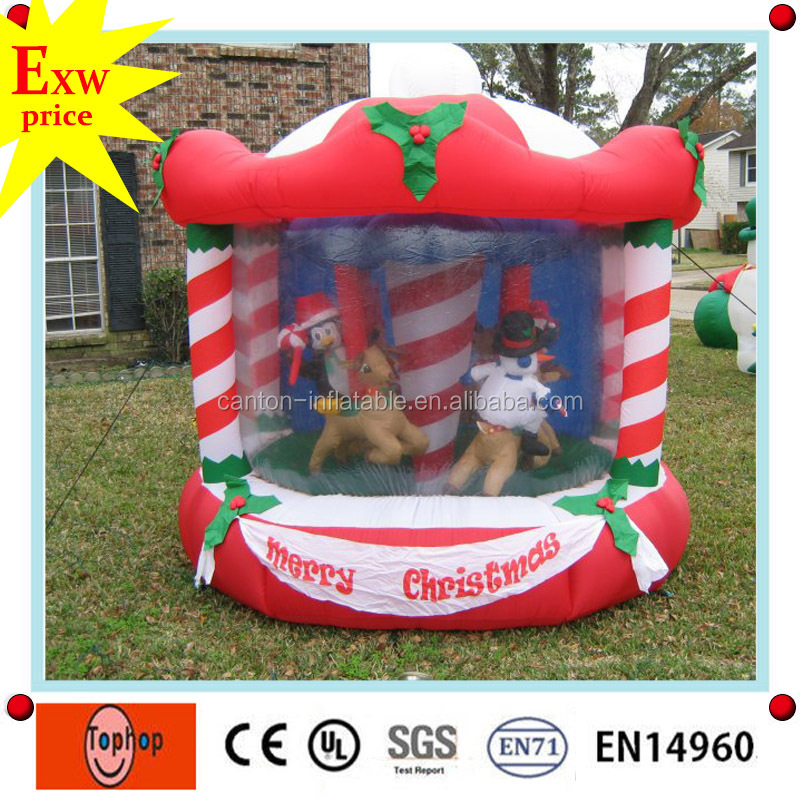 giant inflatable christmas decorations,inflatable christmas john deere model,inflatable christmas carousel for sale