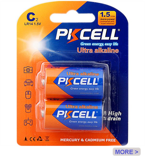 google.com pkcell 9v alkaline battery 6lr61 1604A for remote control car
