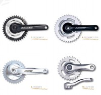 city action hot sale fixed gear crankset