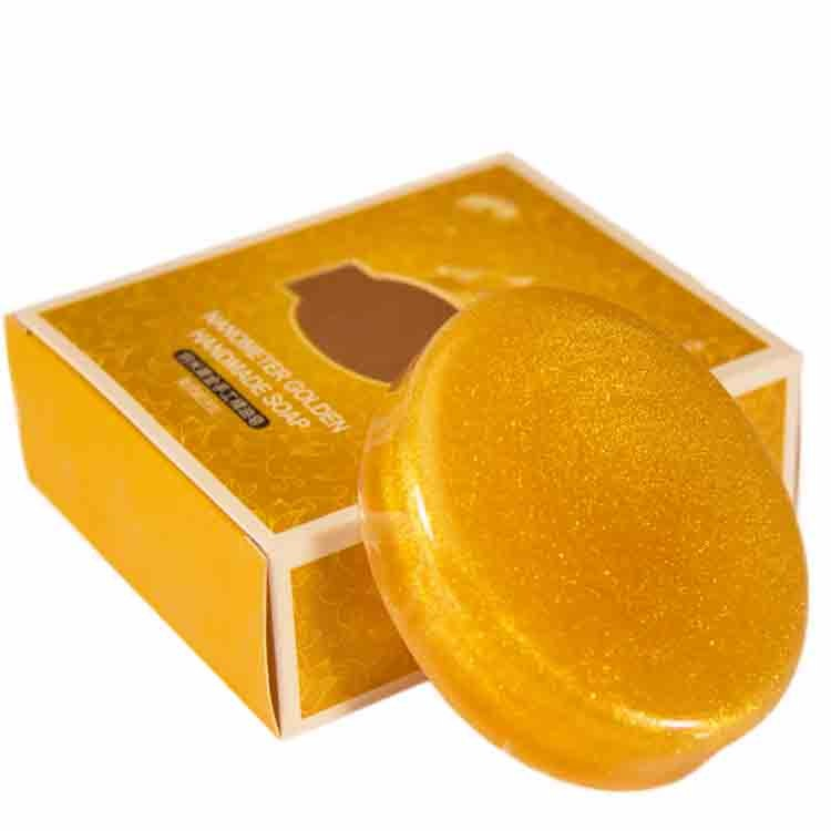 24K Gold Skin Whitening Natural Handmade Soap Wholesale