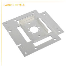 High precision machining custom made 6061 aluminum sheet plate,perforated anodized aluminum sheet