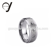 Hot Selling Tungsten Cock Ring Men Jewelry Wedding Bands Unique Tungsten Rings
