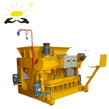hot selling egg layer hollow QMY6-25 mobile brick making machine with mould