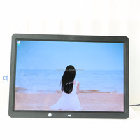 mobile mp4 movies hd 15.4 inch motion sensor digital photo frame
