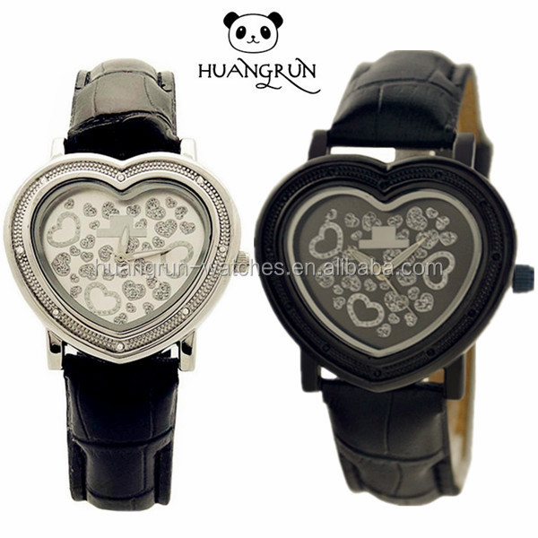 Cheap gift cute couple lover wrist watch