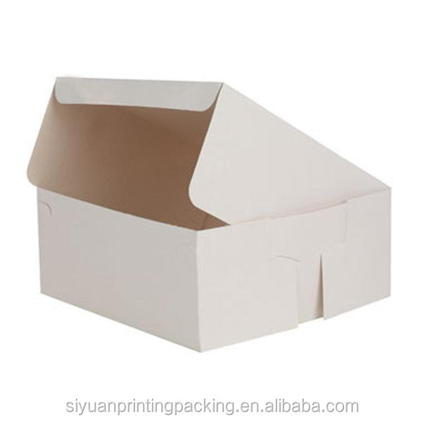 Best quality hot sell card cake box wedding