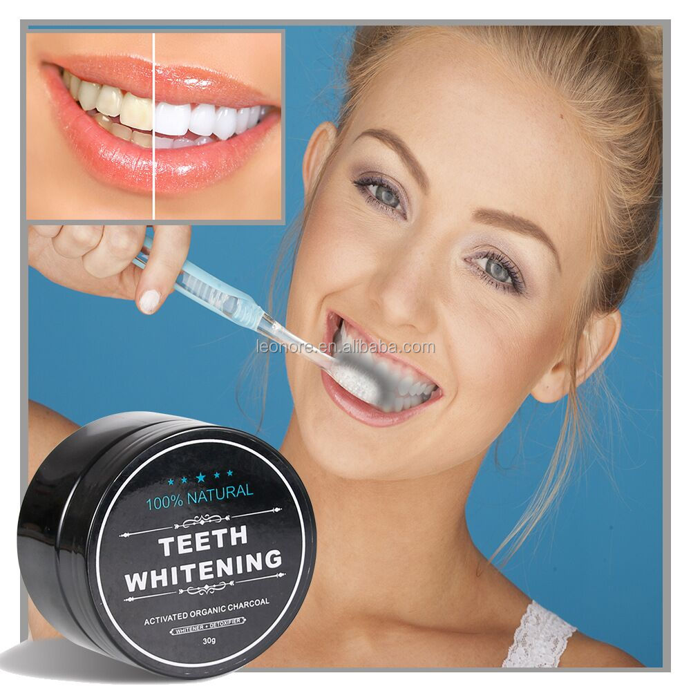 Bamboo Teeth Care Cleaning Activated Charcoal Tooth Powder