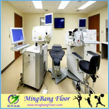 Anti bacterial homogeneous electronics antistatic floor