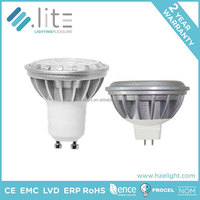 5w 6W 8W 9W Dimmable COB Led bulb 15 degree led spotlight gu10