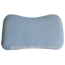 breathable 3D pillow baby pillow blue color