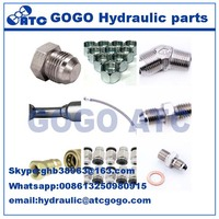 hydraulic carbon steel/stainless steel swagelok tube fittings