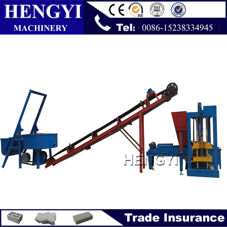 QT4-25BH stone block making machine, interlocking brick machine in malaysia