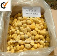 2015 new crop High quality IQF frozen peeled chestnuts
