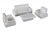 architectural plastic scale model white furniture for 1/50&1/75