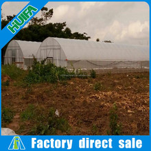 Huifa Cheap Plastic Film Used Commercial Greenhouses for Sale