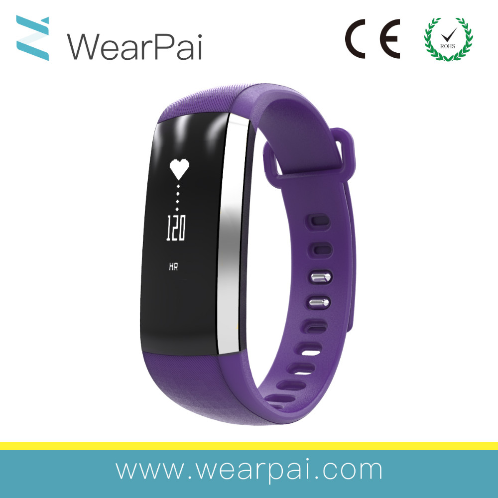 Customized kids smart bracelet Wearable bracelet pedometer activity tracker
