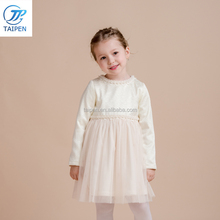 2017 Latest Girls Frock Designs For Party Wear Knitted Winter Party Dress Children Clothes Wholesale