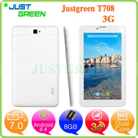 Direct buy china bulk wholesale android tablets T708 MTK8312 Dual Core cpu up to 1.3GHz 2500 mAh WCDMA/GSM 3g call tablet