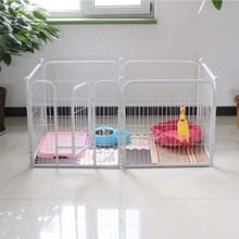 Large folding wire pet kennels for dog house metal dog kennels