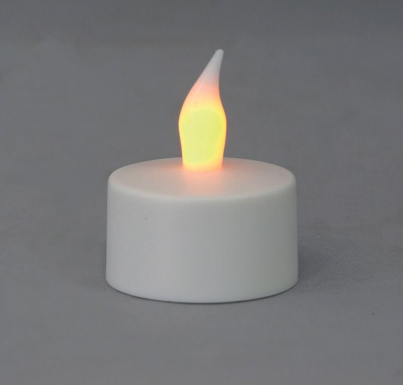 led bulb of rechargable candle appearing like genuine flickering flame used for party and ornament