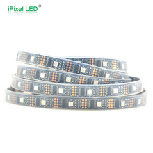 Programmable outdoor rgb ws2801 ic led flex strip - 5m/roll