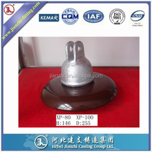 suspension disc porcelain insulator(clevis type)Ansi 52-9