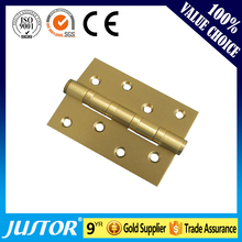 High quality 304 stainless steel flexible and smooth hinge JU-MHY002 for wooden door