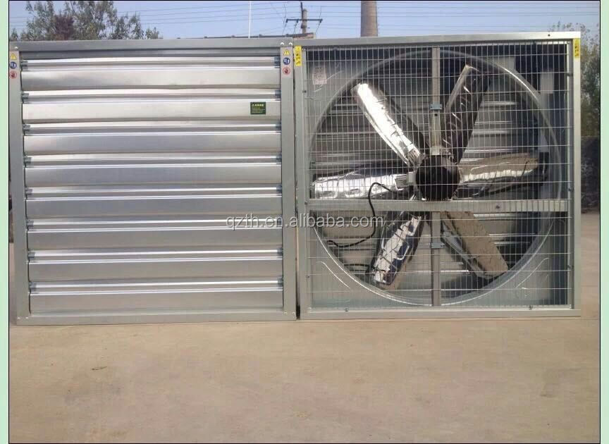 Industrial DC motor direct drive exhaust fan for greenhouse and poultryhouse