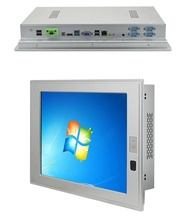 10 inch Industrial Touch Screen Panel PC with Celeron 1037U CPU Fanless Win XP/Linux OS