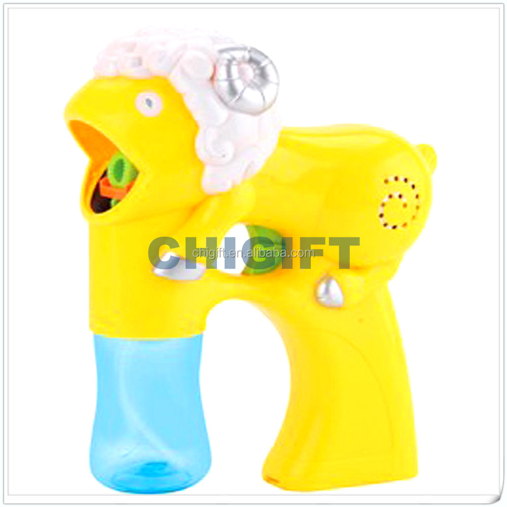 No Batteries Needed Light Dolphin Bubble Gun