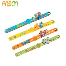 High Quality Anti-mosquito Wrist Band Cartoon Mosquito Repellent Bracelet Natural Plant Essential Oils for Baby Child Outdoor