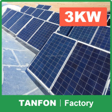 Complete solar kit solar system for home appliances 1000W 2000W 3000W / First Grade Quality 5KW solar system for home