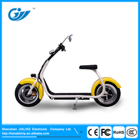 Bright color Harley01 1000W two wheel adult motor scooter for sale