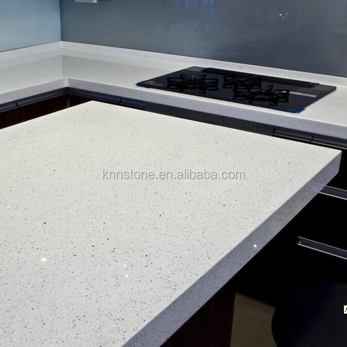 Crystal White Quartz Countertop Kitchen,Kitchen Counter Tops Quartz White  Color   Buy Countertop,Counter Tops,Quartz Countertop Product On Alibaba.com
