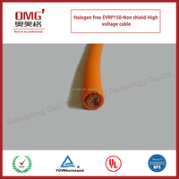 Halogen free Very soft & flexible good quality high voltage cable for Electric vehicle internal use-shield and without shield