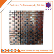 High quality MOSAIC/Fireproof /Aluminum Composite Panel/ACP/ACM for wall cladding and interior exterior decoration