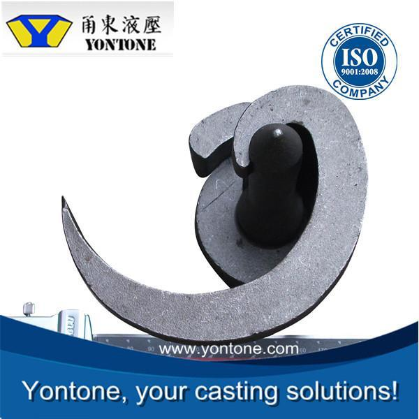 Yontone ISO Certified Company T6 HT250 cast iron sand casting ornament