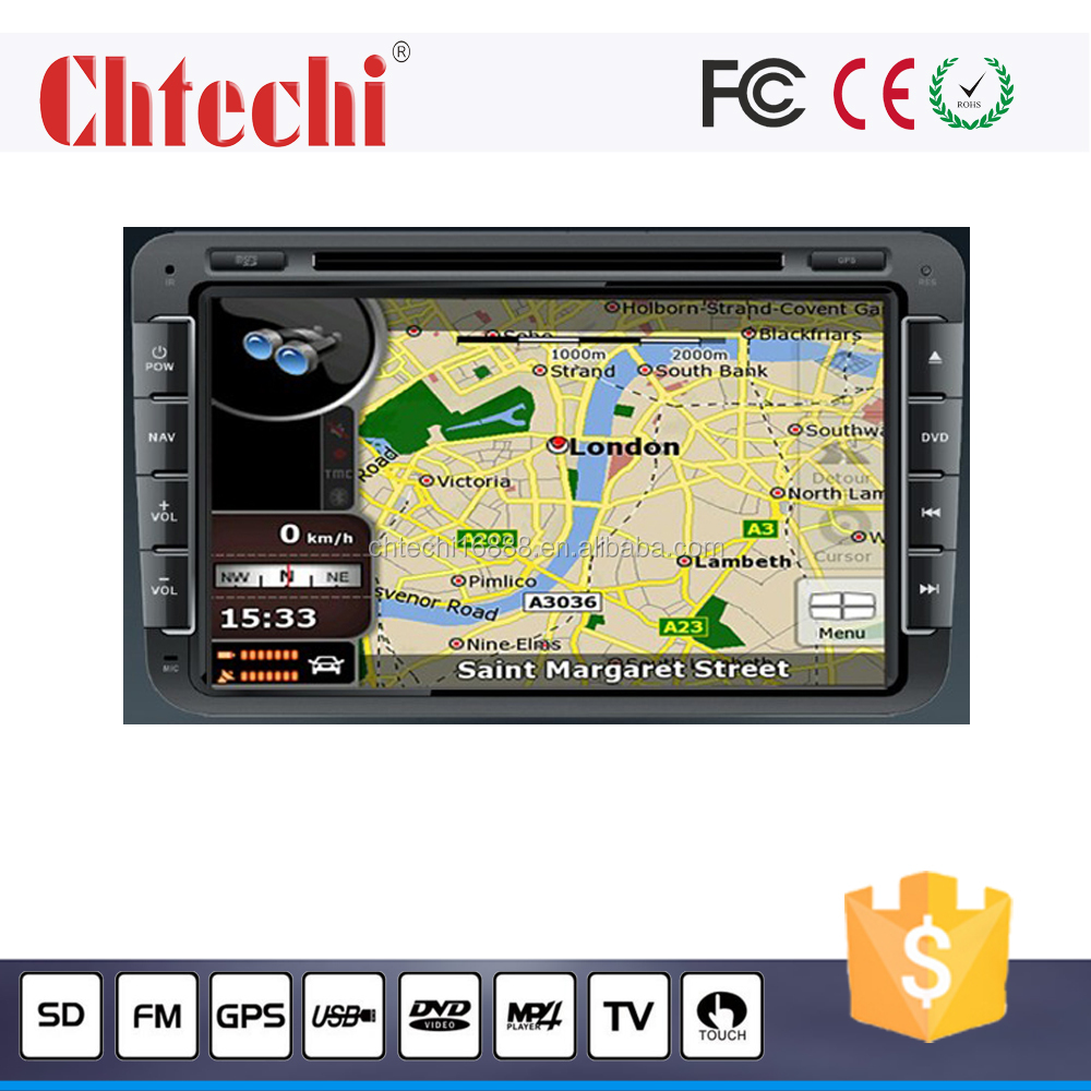 Car dvd player for Volkswagen universal 8inch car dvd navigation with Vehicle gps multimedia player am/fm music mp3 play