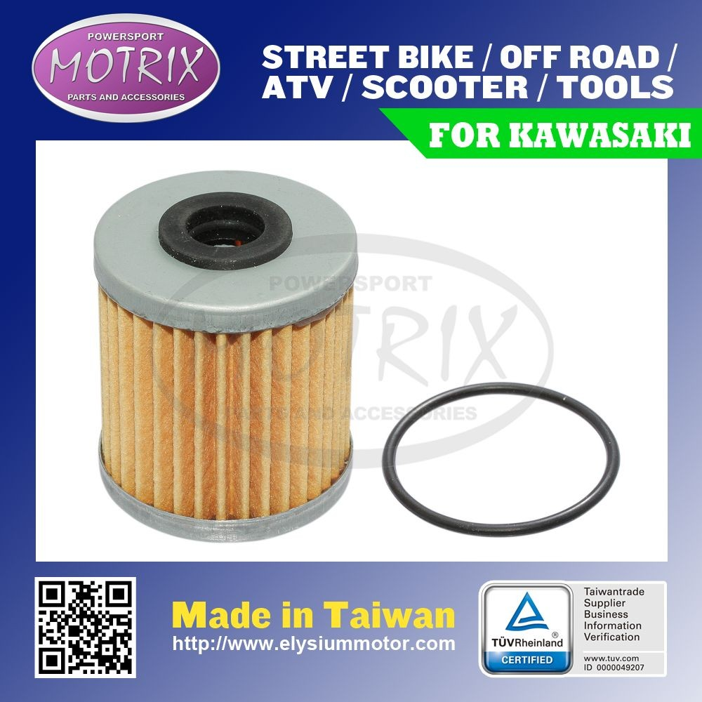 For KAWASAKI KX250 F-N1,N2, OFF ROAD OIL FILTER WITH O-RING