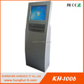 19 inch Touch Screen Payment Kiosk with metal Keyboard / Metal Kiosk Keyboard