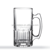 China supplier cheap 1000 ML big capacity beer festival glass steins