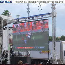 Portable Rental 6mm Smd Stage Background Dj Outdoor Led Screen for Concert