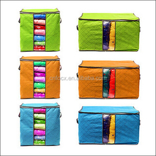 Bamboo Charcoal Non-woven Fabric Storage Bag / Garment Organizer / Underwear Quilt storge bag