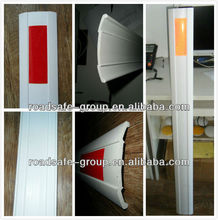 High rebound PVC flexible delineator post