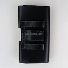 Belt Clip Magnetic Pouch Flip Leather Holster Case for iphone 4gs