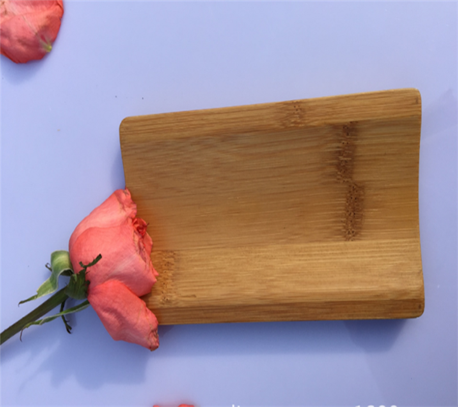 Environmental protection sanitary bamboo or wooden towel tray in hotel or restaurant