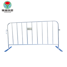 Crowd control temporary barricade fence mobile security traffic barrier