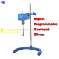 50L Laboratory LCD chemical paint Digital Overhead Stirrer