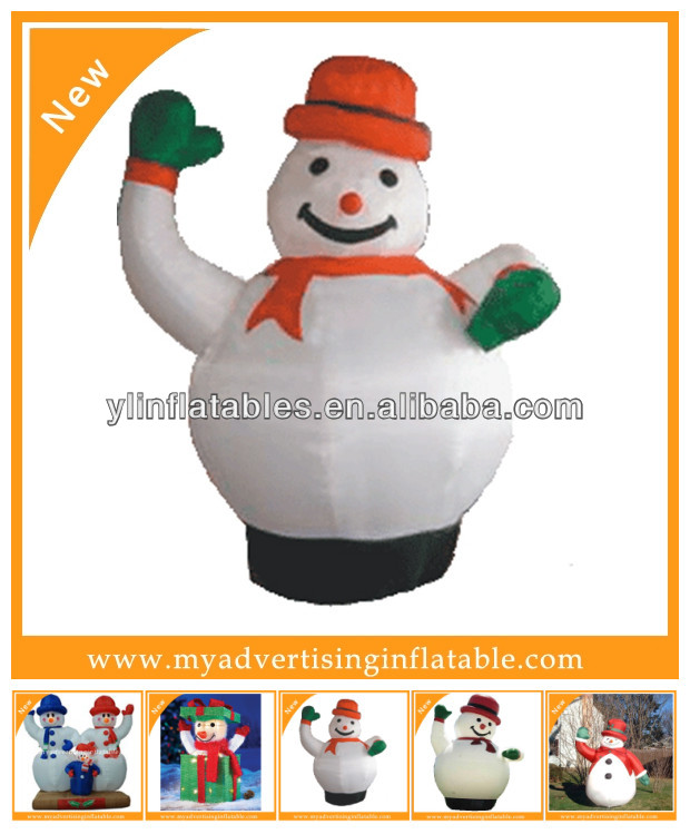 Christmas Inflatable snowmen