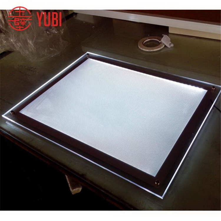 Cheap promotional acrylic backlight picture frame